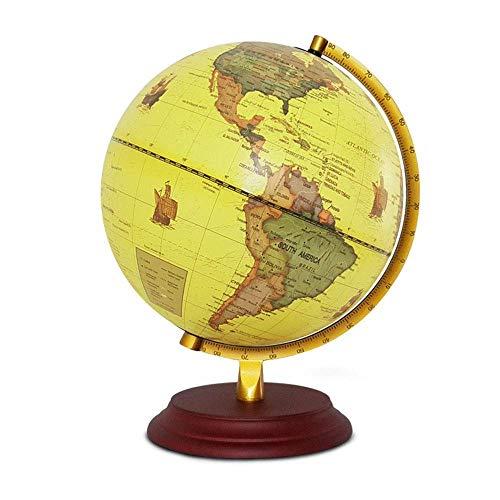 SuRose Globo, Globo de sobremesa Explore el Mundo Globos geográficos Globo de Escritorio de 25 cm ndash;Regalo Educativo Educativo/geográfico/Moderno de decoración de Escritorio