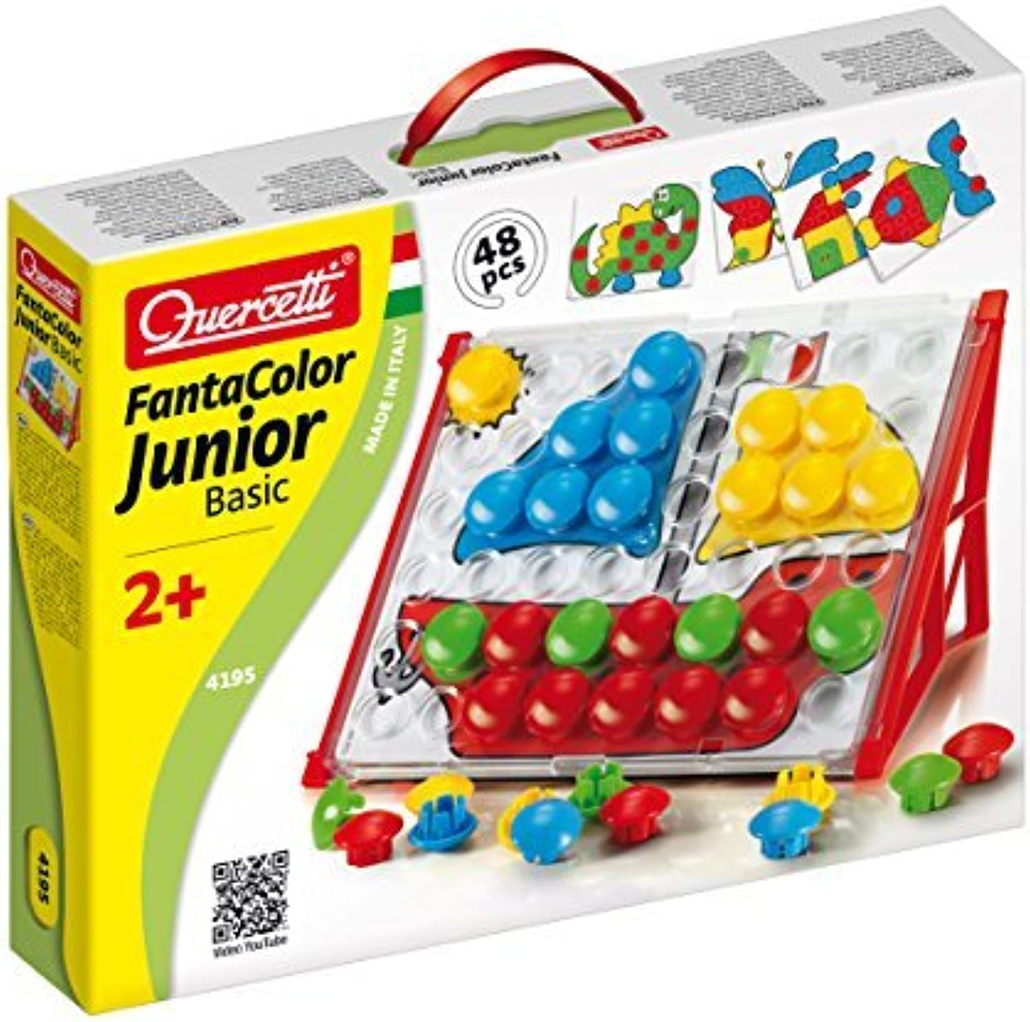 Quercetti Fantacolor Junior Basic Baby Toy by Quercetti
