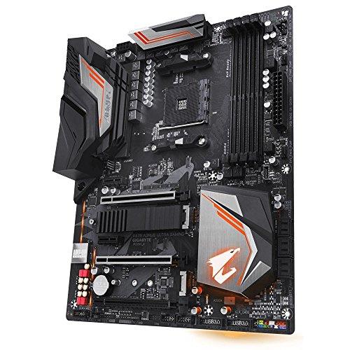 Gigabyte X470 AORUS Ultra Gaming Motherboard schwarz