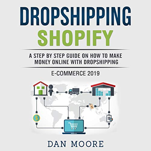Dropshipping Shopify E-Commerce 2019  By  cover art