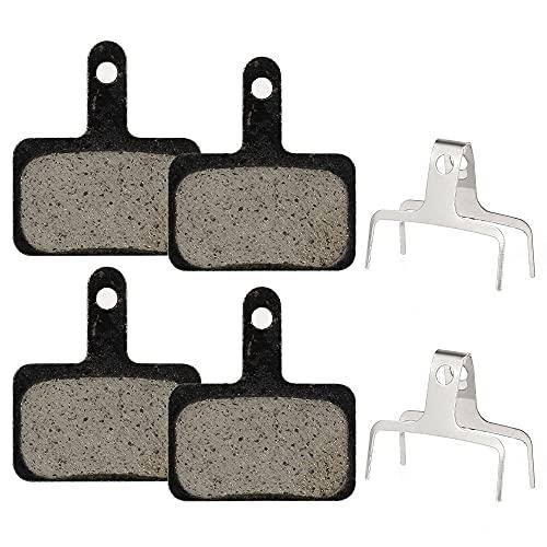 4 Pares Pastillas Freno Disco Semi-metálico, Pastillas de Freno de Bicicleta para...