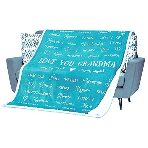 Grandma Blanket Birthday Gift for Grandma – Gifts for Grandma for...