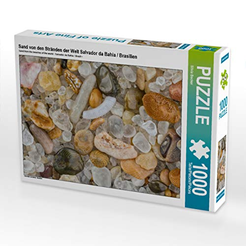 CALVENDO Puzzle Sand von den Stränden der Welt Salvador da Bahia / Brasilien 1000 Teile Lege-Größe 64 x 48 cm Foto-Puzzle Bild von Silvia Becker