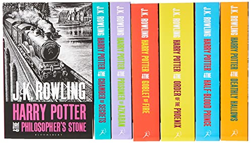 Harry Potter Boxed Set: The Complete Collection (Adult Paperback): J.K. Rowling - Boxed Set