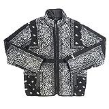 SUPREME シュプリーム 19AW Reversible Bandana Fleece Jacket バンダナ柄フリースジャケット 黒 M 並行輸入品
