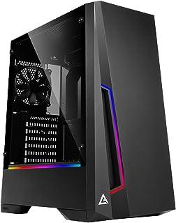 新誕生★ゲーミングデスクトップ 最新i5-9400F搭載 / 8GB / 高速SSD240GB / 大容量HDD1TB / 600W 80Plus / 外付けDVDドライブ / Windows10pro / WPS Office (GTX1650モデル, ブラック&RGB)