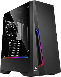 新誕生ゲーミングデスクトップ 最新i5-9400F搭載 / 8GB / 高速SSD240GB / 大容量HDD1TB / 600W 80Plus / 外付けDVDドライブ / Windows10pro / WPS Office (GTX1660Tiモデル, ブラック&RGB)