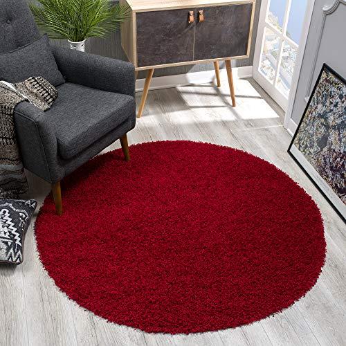 röd rund matta ikea