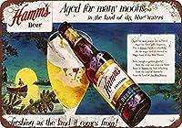 Hamms Beer ティンサイン ポスター ン サイン プレート ブリキ看板 ホーム バーために