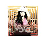 ASDH Superstar Britney Spears Blackout Wall Poster Cuadro decorativo Lienzo Arte Pared Sala de Estar Poster Dormitorio Pintura 20x20 pulgadas (50x50 cm)