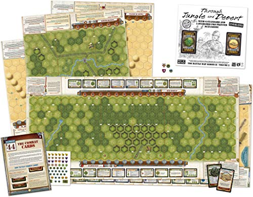 Memoir 44 Through Desert & Jungle - English