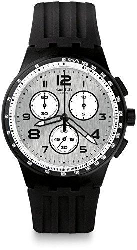 Swatch Orologio Digitale Quarzo Uomo con Cinturino in Silicone SUSB103