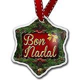 Monsety Adornos de Navidad Divertidos para niños de Navidad en catalán de Andorra España Vacaciones árbol de Navidad Adornos Decoración Regalos