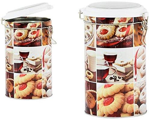 AVENUELAFAYETTE Boîte Pot hermétique métal Biscuit