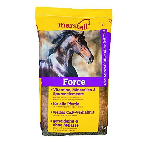 marstall Premium-Pferdefutter Force, 1er Pack (1 x 20 kilograms)