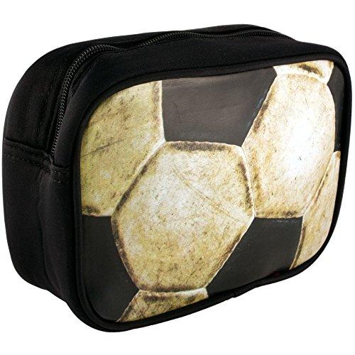 Petit zippé lavage / Sac de toilette pour hommes - Modèle du football