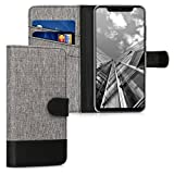 kwmobile Wallet Case for Xiaomi Mi 8 - Fabric and PU