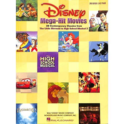 Disney Mega-Hit Movies. Für Klavier