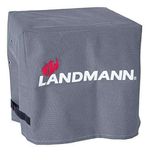 Landmann Premium Wetterschutzhaube | Aus robustem Polyestergewebe & Wasserdicht | UV-beständig, Atmungsaktiv & Kältebeständig | Geeignet 800 [38 x 44 x 34 cm]