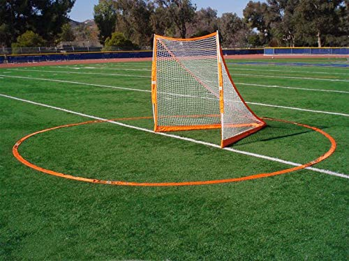 Bownet 3 Meter Official Men and Women International Regulation Sized Portable Lacrosse Crease