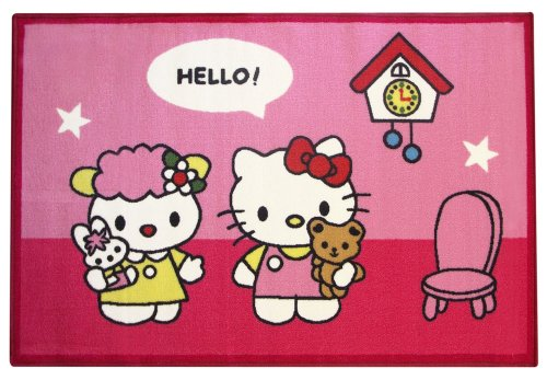 Fun House - 711653 - Ameublement Et Décoration - Hello Kitty - Tapis Maison