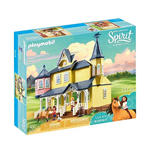 Playmobil Spirit - Riding Free 9475 - Casa di Lucky,...