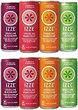 IZZE Sparkling Juice, 4 Flavor Variety Pack, 8.4 Fl Oz (24 Count), 2 Pack