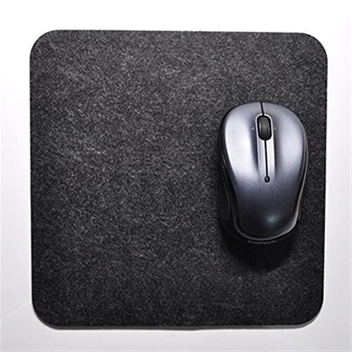 AITAOZI Almohadilla de ratón de Fieltro, Adecuado para computadoras, teclados, computadoras portátiles, oficinas y hogares. (Color : B)