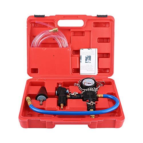stronerliou, Sistema de refrigeración del radiador del Coche, Kit de Herramientas de Purga de vacío y Recarga de refrigerante, Cambiador de anticongelante de Agua