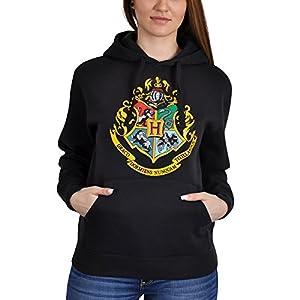 Harry Potter Hogwarts de sudadera con capucha de color negro 23