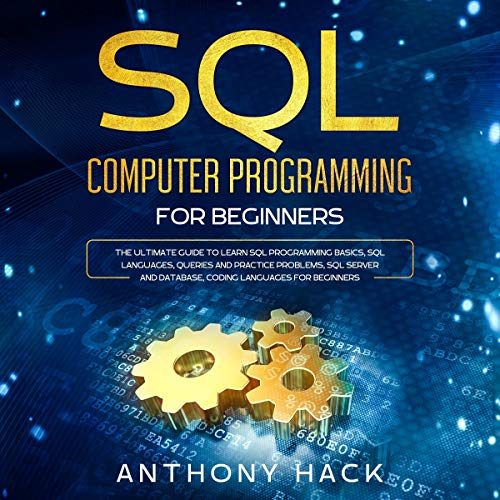 SQL Computer Programming for Beginners cover art