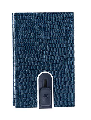 Piquadro Sophia Compact Wallet Slider RFID Ottanio Lizard/Metal