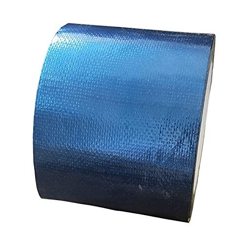 VERDELZ Bodenplane Vorzelt Wasserfestes Klebeband Planenkleber PVC Kleber Wasserfest Reparaturband Wasserdicht Wasserfestes Klebeband Pool Markisen Reparatur Set(Blue)