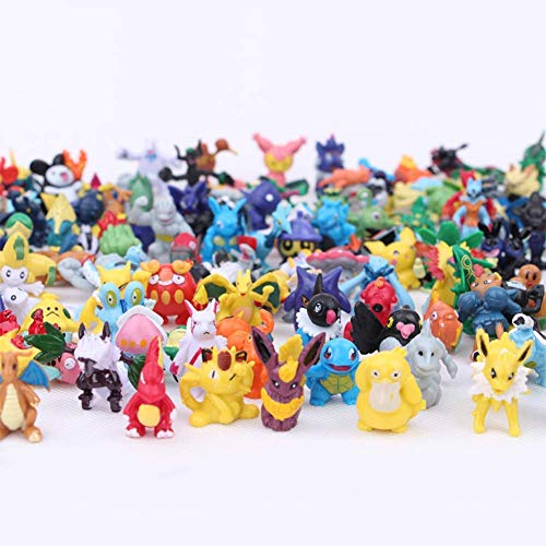 144 Pcs Collectible pet Action Figures Heroes Action Figure Toy Children's Favorite Collectible Toys