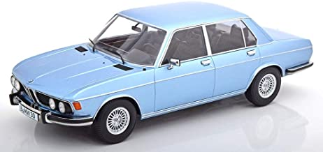KK Scale KKDC180401 - B-m-w 3.0S E3 2.Series Light Blue Metallic 1971 - Escala 1/18 - Modelo Coleccionable