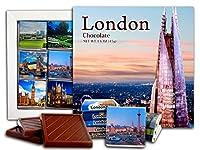 DA CHOCOLATE キャンディスーベニア ロンドン チョコレートギフトセット 13x13cm 1箱 (シャード)