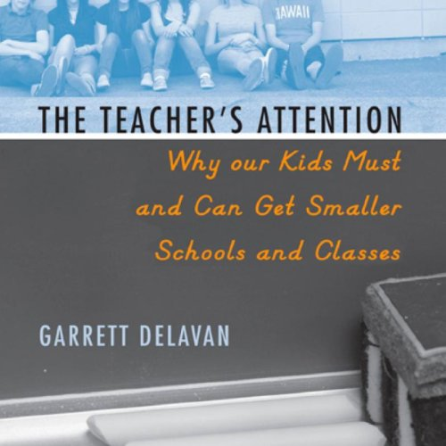 The Teacher's Attention audiobook cover art