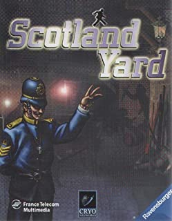 SCOTLAND YARD PC GAME WINDOWS 95/98