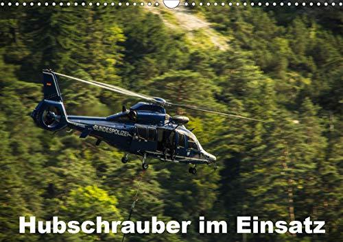 Hubschrauber im Einsatz (Wandkalender 2020 DIN A3 quer)