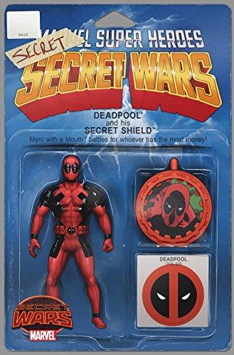 Deadpool's Secret Wars #1 (of 4) Action Figure Variant