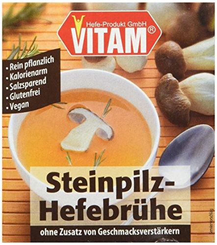 VITAM Steinpilz-Hefebrühe, 1er Pack (1 x 450 g)