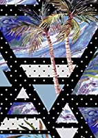 igsticker ポスター ウォールステッカー シール式ステッカー 飾り 1030×1456㎜ B0 写真 フォト 壁 インテリア おしゃれ 剥がせる wall sticker poster 014039 海 ヤシの木 夏