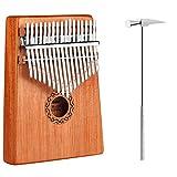 iheyfill Kalimba 17 Schlüssel, Kalimba Daumenklavier, Finger Klavier, Mini Thumb Piano Kalimba...
