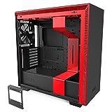 NZXT H710 Black & RED ミドルタワーPCケース E-ATX 対応 強化ガラスモデル CA-H710B-BR CS7954