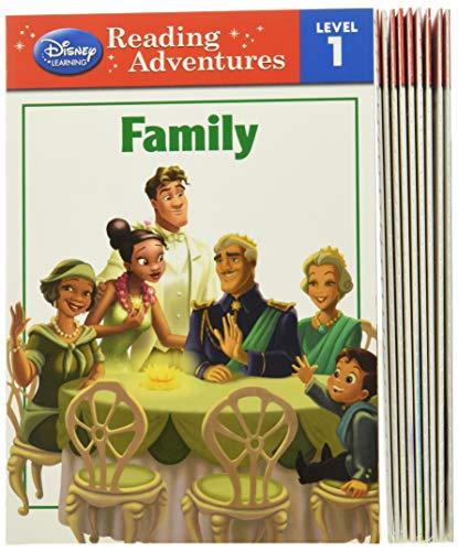 Adventures in Reading Disney Princess Level 1 Boxed Set (Reading Adventures)