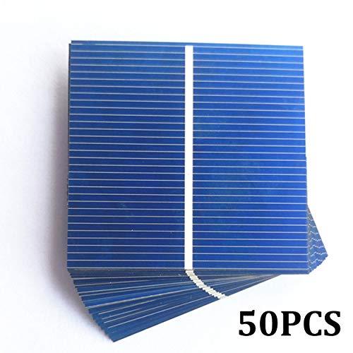 Tree-on-Life 50/100 stücke 52 * 52mm 0,5 v 0,43 watt solar Panel DIY solarzelle ladegerät DIY solarbatterie ladegerät painel solar