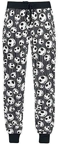 The Nightmare Before Christmas Jack Skellington - Skulls Frauen Pyjama-Hose schwarz M