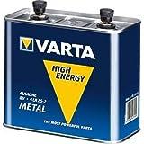 Varta Rechargeable Lantern Linterna recargable, 3 W, Negro