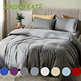 Best Bamboo Sheets - SONORO KATE Bed Sheet Set Bamboo Sheets Deep Review