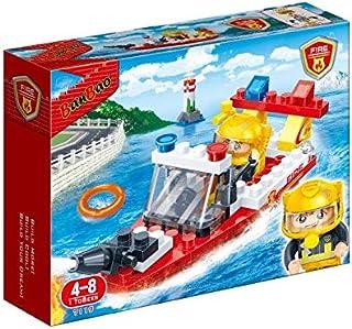 بان باو لعبة رجال الاطفاء المنقذين 58 قطعة